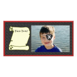 Call me a PIRATE Photo Greeting Card