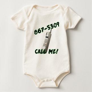 Call Me Baby Bodysuit