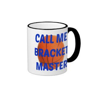 Call Me Bracket Master Ringer Coffee Mug