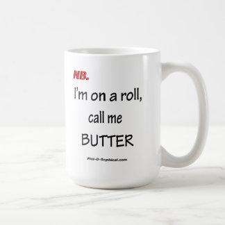 Call Me Butter (Mug) Classic White Coffee Mug