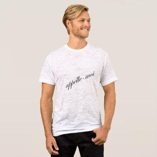 Call me by JM Moyer T-Shirt