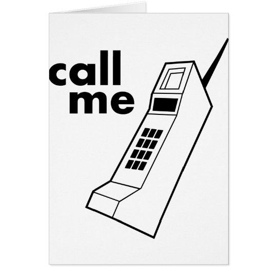 Call Me Card