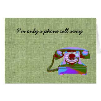 Call Me! Card