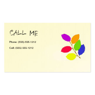Call Me Card Business Card