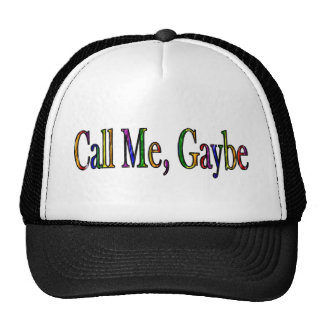 Call Me Gaybe Trucker Hat