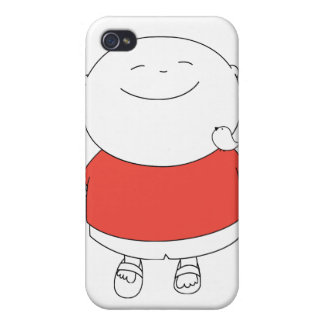 Call me Happy Boy iPhone4 case - Red