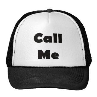 Call Me Mesh Hat