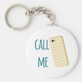 Call Me Key Chain