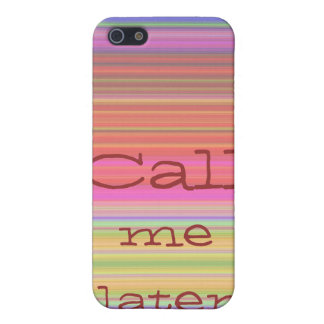 Call me later -  Rainbow Strip Case