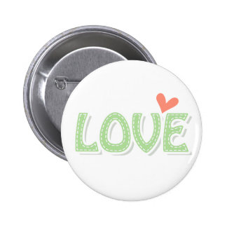 Call Me LOVE 2 Inch Round Button