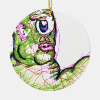 Call me Mr Sluggo Ceramic Ornament