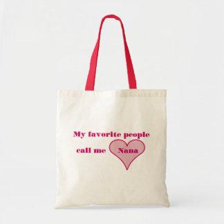 Call Me Nana Tote Bags