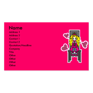 Call_Me_Queen Double-Sided Standard Business Cards (Pack Of 100)