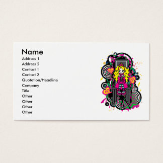 Call_Me_Queen Business Card