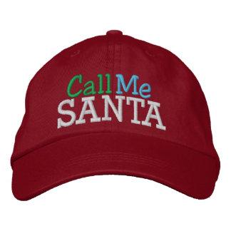 Call Me SANTA ... ; ) Cap by SRF