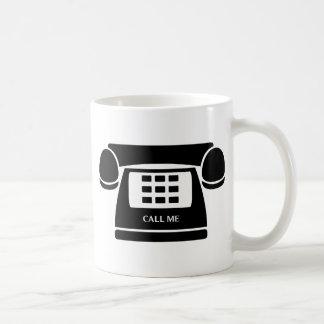 Call Me!  Telephone!  Let's Talk! Coffee Mug