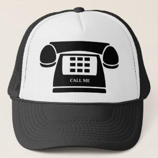 Call Me!  Telephone!  Let's Talk! Trucker Hat
