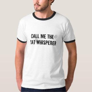 Call Me the Cat Whisperer Unisex T-shirt