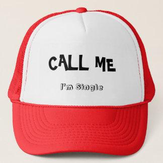 CALL ME TRUCKER HAT