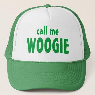 call me , WOOGIE Trucker Hat