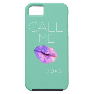 Call me xoxo iphone case iPhone 5 covers