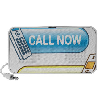 Call now button Web with house phone Portable Speaker