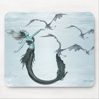 Call of the Sea Dragons Mouse Pad
