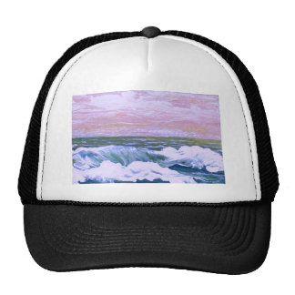 Call of the Sea Ocean Waves Sailing Seascape Trucker Hat