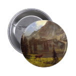 Call of the Wild - Albert Bierstadt Buttons