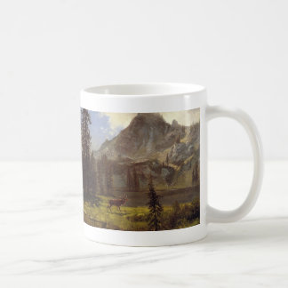 Call of the Wild - Albert Bierstadt Coffee Mug