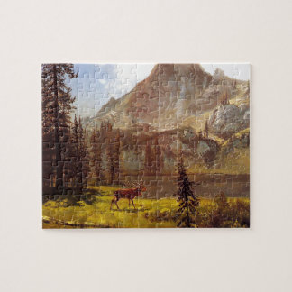 Call of the Wild by Albert Bierstadt 1876–77 Jigsaw Puzzle