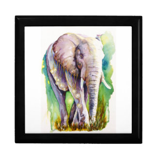 Call of the Wild Elephant Keepsake Box