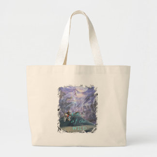 call of the wild large tote bag