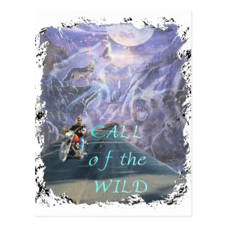 call of the wild postcard