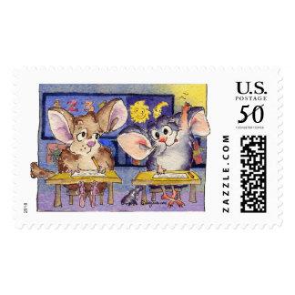 Call On Me Teacher! Custom Postage Stamps