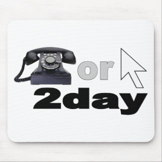 Call or Click Today Mouse Pad