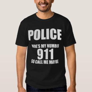 Call Police Maybe Tshirt