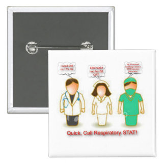 Call RT STAT Pinback Buttons