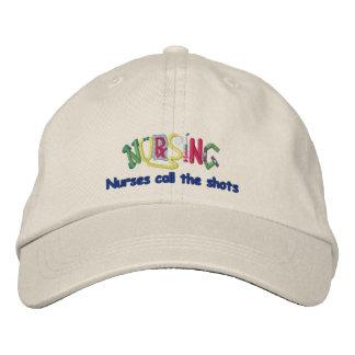Call Shots Nurse Embroidered Baseball Caps