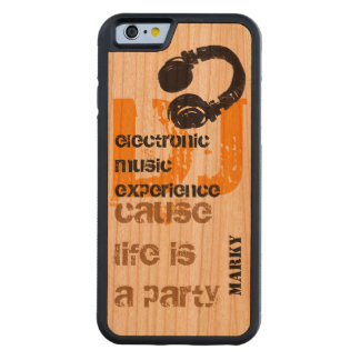 call the dj carved cherry iPhone 6 bumper case