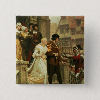 Call to Arms, 1888 Pinback Button