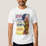 Call to Duty - Join the Army for Home and Country Tee Shirts