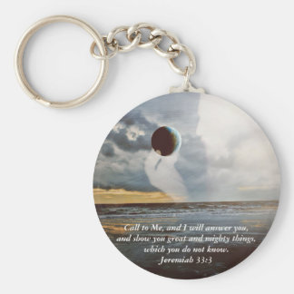 Call to Me ~ Christian Bible Verse Encouragment Keychain