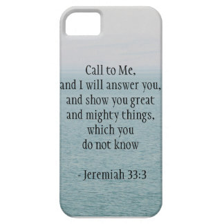 Call Unto Me iPhone SE/5/5s Case