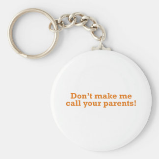 Call your Parents Keychain