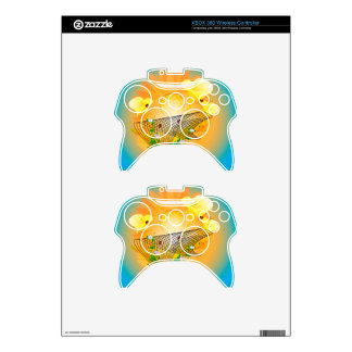 Calla and other flowers xbox 360 controller skin