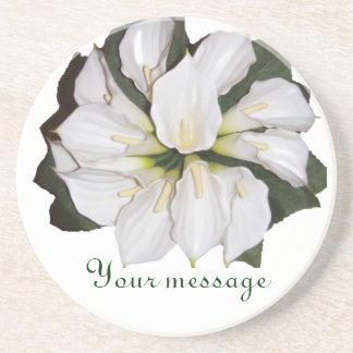 Calla Blooms Coaster