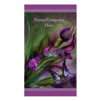 Calla Lilies Business Card
