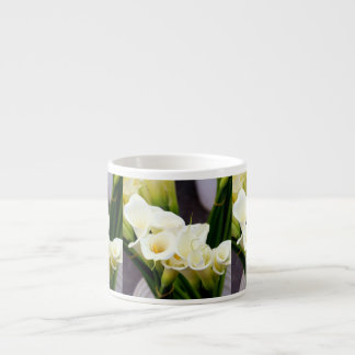 calla lilies espresso mug