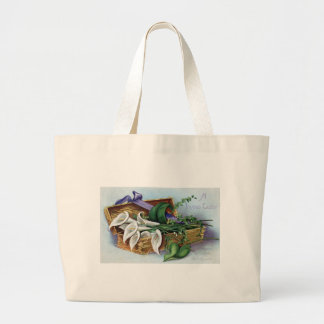Calla Lilies for Easter Large Tote Bag